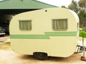 Bubbles the caravan