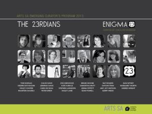 23rdians @ Arts SA 2014