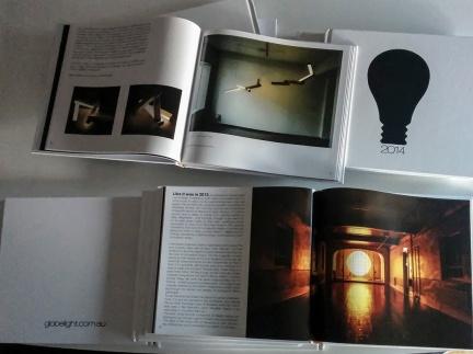 Globelight book 2014, Jemimah Dodd, Silicone Nozzle lights